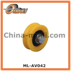 Plastic Roller with Solid Axle