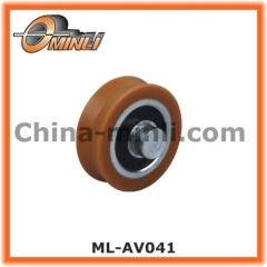 Plastic Bearing with Solid Axle