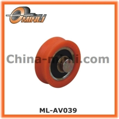 Plastic Pulley with Solid Axle