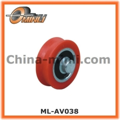 Pulley with Solid Axle