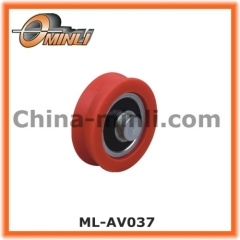 Ball Bearing with Solid Axle