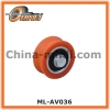Steel Bearing wheel with Solid Axle