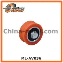 Steel Ball Bearing roller with rotating shaft
