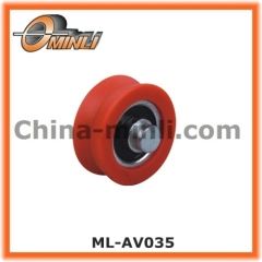Metal Bearing with Solid Axle