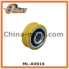 Window Pulley wheel with solid axle