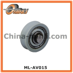 Window Bearing wheel with V Groove