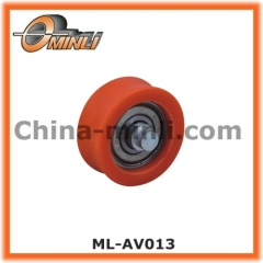 Metal Bearing wheel with Nylon Coat