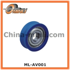 Plastic wheel with Bearing for Window and Door