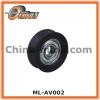 Metal Bearing wheel with Plastic Coating