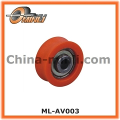 Steel Bearing with Plastic Coating