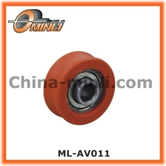 Ball Bearing wheel with Nylon Coat