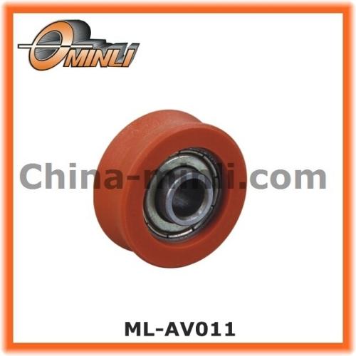 Nylon Coat Ball Bearing wheel for sliding window and furniture