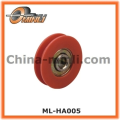 Plastic Pulley with Steel stamp Bearing for Window and Door