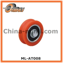 Window and Door Accessories Plastic Coated Bearing
