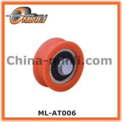 Hot sale Window and Door Accessories Plastic Roller with solid axle
