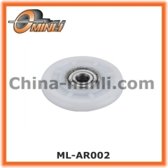 Nylon Coated Roller Bearing with Round shape
