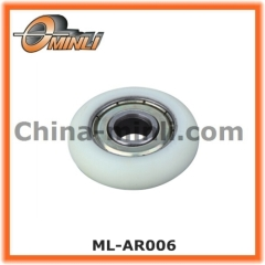 Plastic Coated Roller Bearing for Window and Door