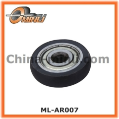 Window and Door Bearing with Plastic Cover