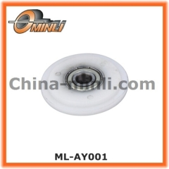 Y shape Nylon Covered Roller Bearing