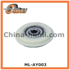 Plastic Coated Roller Bearing for sliding door