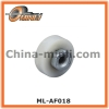 Plastic roller with hex screw nut for shower room