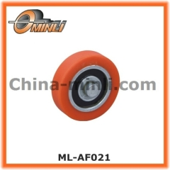 Plastic Nylon Wheel with axle
