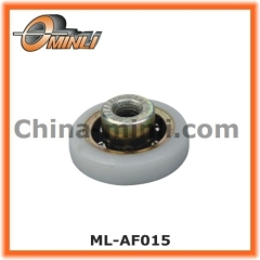 Plastic Covered Pulley with customized axle
