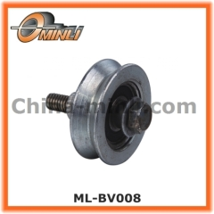 Front door roller Gate metal wheel