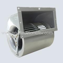 Dual inlet centrifugal blowers fans housing impeller