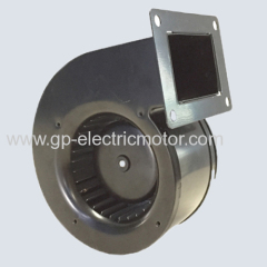 Single inlet centrifugal blower ventilators housing impellers