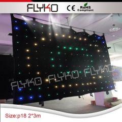 dj stage decoration led light backdrop