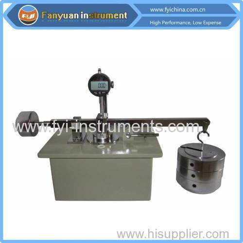Core Thickness Tester for Textured Geomembrane
