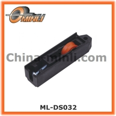 Window roller for PVC slide window