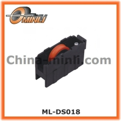 Window and Door Plastic Pulley with Single Roller