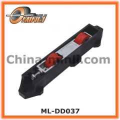 Double colourful nylon wheels in zinc alloy Die-cast housing