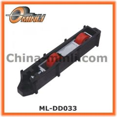 Twin wheel Window roller in Zinc Alloy die-cast and plastic Bracket housing