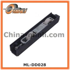 Double wheel aluminum frame nylon roller