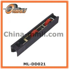 Plastic nylon door and window roller with Twin wheels