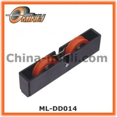 Plastic Injection Double Rollers for aluminum doors & windows pulleys