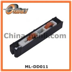 Double Wheels Plastic Pulley for slide window Parts