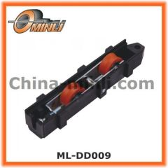 Plastic Bracket with Double Roller for Aluminum window Casters