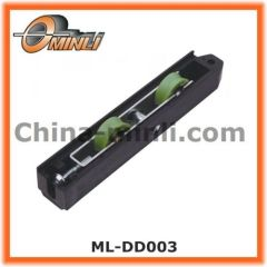 Plastic Outer Bracket Double Roller Pulley for Heavy Duty Window and Door