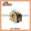 Sliding gate wheel with zinc coated