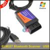 USB ELM327 Bluetooth OBDII Scanner