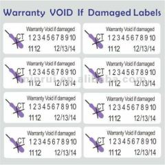 Custom Security Label Seal