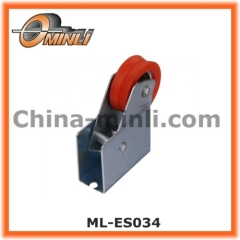 Aluminium profile Single Roller pulley