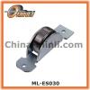 Single steel roller metal bracket pulley