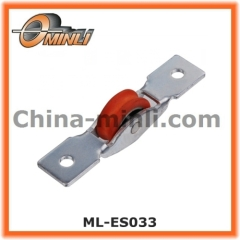 Aluminum sliding window roller with nylon wheel for glass sliding window