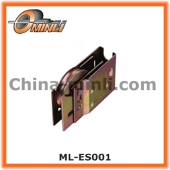 Iron Punching Bracket pulley with Iron steel roller wheel