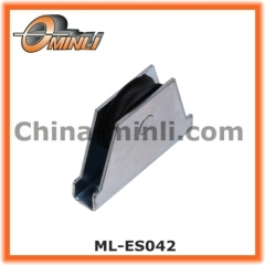 Cabinet iron sliding door roller